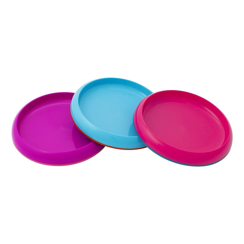sc 1 st  Amazon.com & Amazon.com : Boon Plate Edgeless Nonskid Plate Blue/Orange/Green : Baby