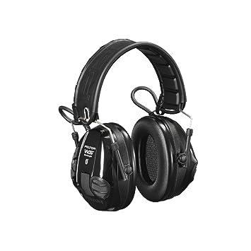 Cascos Peltor WS de Trabajo Bluetooth Escucha Activa / Protector - Negro