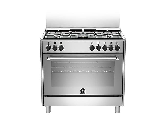 Bertazzoni La Germania Americana AMN905MFESXE cucina Piano cottura Acciaio  inossidabile Gas B