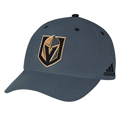 0001d58ed30 Image Unavailable. Image not available for. Color  adidas Vegas Golden  Knights NHL 2018 Structured Cap