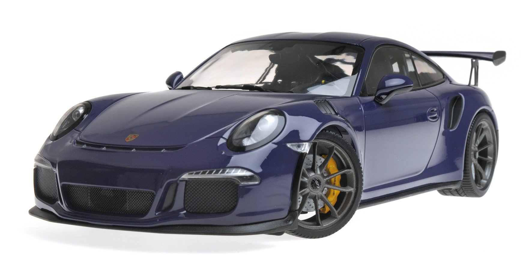 2015 Porsche 911 GT3 RS Ultra Violet Limited Edition to 1,002 Pieces Worldwide 1/18 Diecast Model Car by Minichamps 155066221