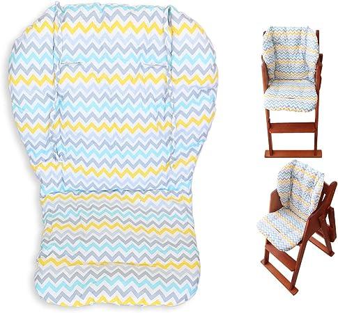 Oferta amazon: Cojín de la silla alta, Amcho Cochecito de bebé/Trona / Cojín del asiento de coche Película protectora Almohadilla de la silla alta transpirable (Hojas de colores)