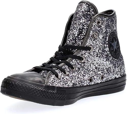 Converse All Star Hi Glitter, Sneaker Alte Donna