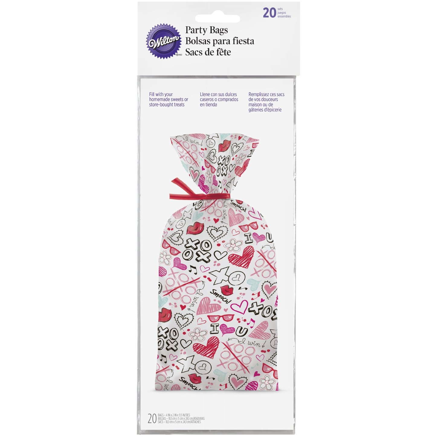 Wilton spread Love Sprinkle Kindness confetti Witon 1912-5325