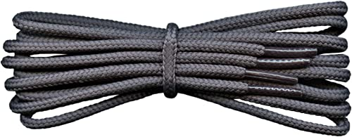 All Sizes Round Walking Hiking Cotton Boot Shoelaces New Black SHOE LACES