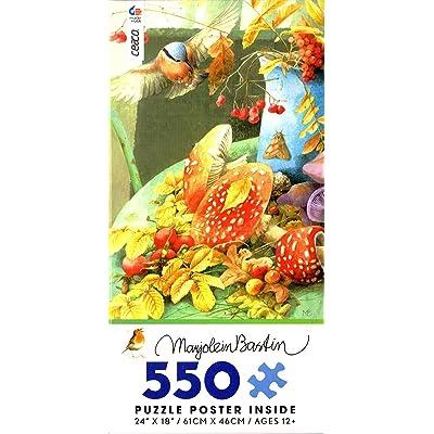Ceaco - Fall's Bounty by Marjolein Bastin - 550 Piece Jigsaw Puzzle: Toys & Games