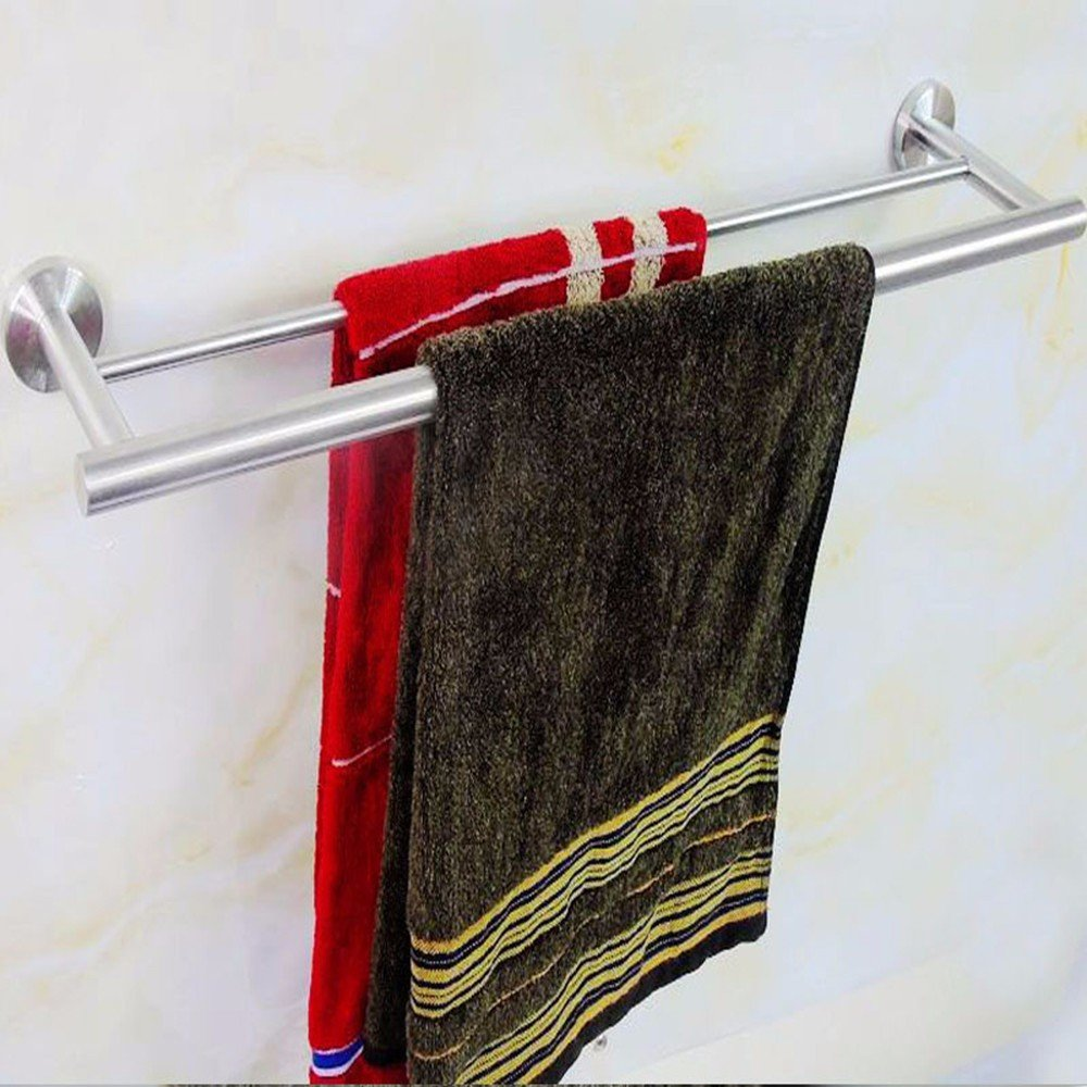 Yomiokla Bathroom Accessories - Kitchen, Toilet, Balcony and Bathroom Metal Towel Ring suction cup clothes rack-mounted window drying racks inside Iraq of Hanger Hook Sub