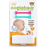 oogiebear - oogiebear - Patented Nose and Ear Gadget. Safe, Easy Nasal Booger and Ear Cleaner for Newborns and Infants…
