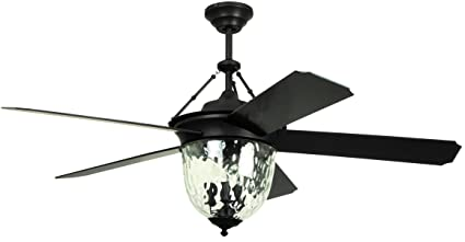 Litex e km52abz5cmr knightsbridge collection 52 inch indooroutdoor litex e km52abz5cmr knightsbridge collection 52 inch indooroutdoor ceiling fan with remote aloadofball