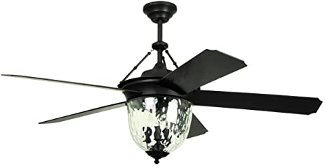 Litex e km52abz5cmr knightsbridge collection 52 inch indoor litex e km52abz5cmr knightsbridge collection 52 inch indooroutdoor ceiling fan with remote aloadofball Images
