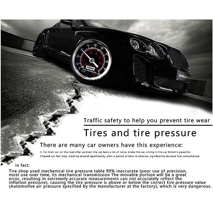 ... Medición Rápida y Precisa, para Medidores de Presión de Neumáticos de Automóviles, Motocicletas, Bicicletas, SUV, RV o ATV etc - Tumao: Amazon.es: Coche ...