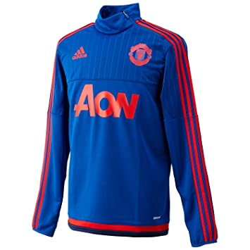7732af07a5f Adidas Performance Manchester United Mens Track Top, Royal Blue, Size: XL