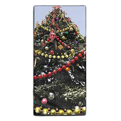 Dominic Philemon - Toalla Suave Decorativa para árbol de Navidad, tamaño Grande, 30 x