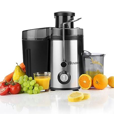 Homdox Licuadora Automática para Zumos Licuadora de vaso de Frutas ...