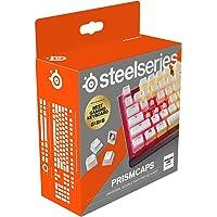 SteelSeries PrismCaps – Tweevoudig gegoten Pudding-Style keycaps – Duurzaam thermoplastisch PBT – Compatibel met de…