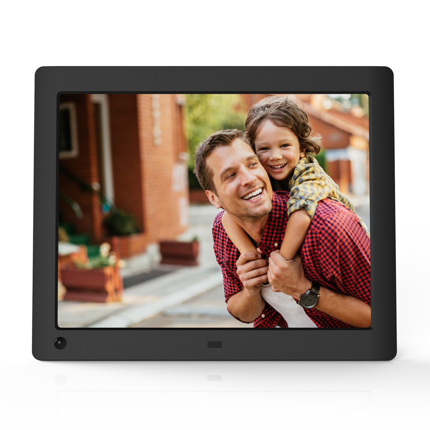 nix advance 8 inch hi res digital photo frame with motion sensor x08e