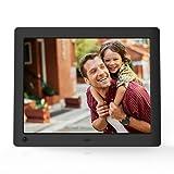 NIX Advance – Cornice digitale da 8 pollici ad alta risoluzione, l'unica che riproduce un mix di foto e video HD nella stessa slideshow. Dotata di sensore di movimento HU-Motion