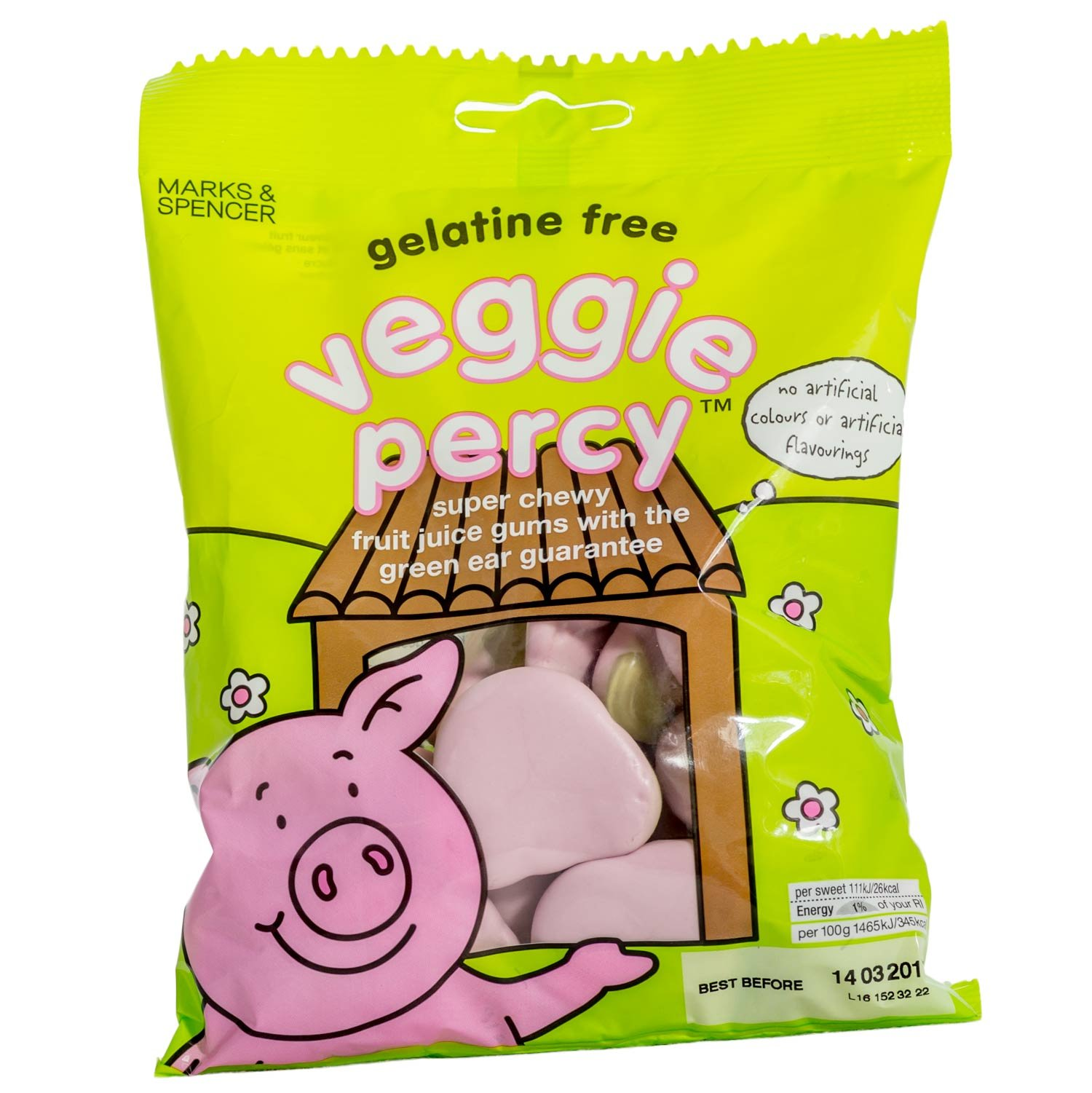 Marks & Spencer | Percy Pigs - Veggie Percy | 2 x 170g Bag