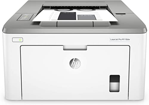 HP Laserjet Pro M118dw Wireless Monochrome Laser Printer with Auto Two-Sided Printing, Mobile Printing Built-in Ethernet 4PA39A Renewed