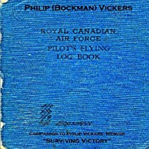 Royal Canadian Air Force Pilot's Flying Log Book