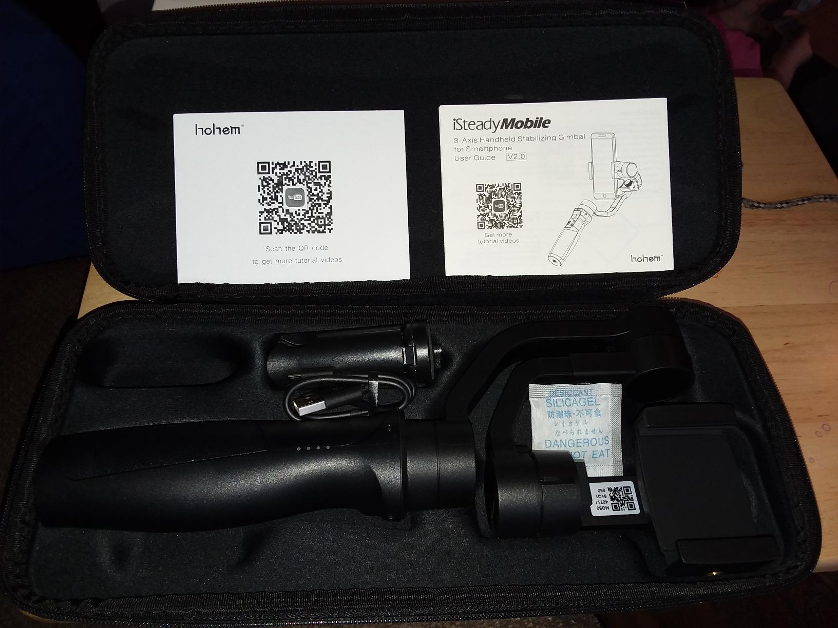 Smartphone Gimbal Stabilizer 3-Axis Handheld Phone Gimble