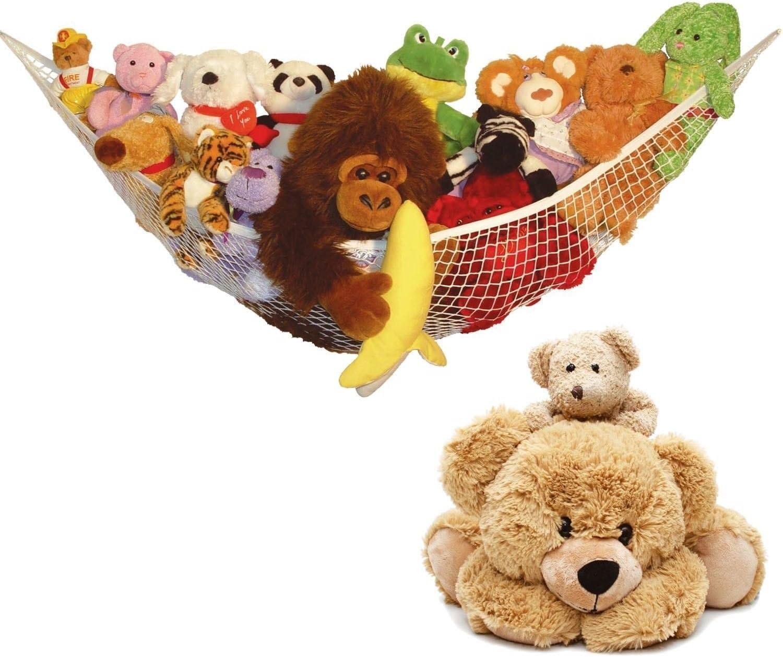 Large Toy Soft Teddy Hammock Mesh Baby Childs Bedroom Tidy Storage Nursery Net 1