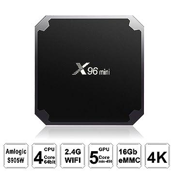 TV Box,LHTC Android 7 1 Smart TV Box 4K Ultra HD 2 4G 5G Wifi Quad core  2GB/16GB ROM Amlogic S905W 4k/3D Custom New K0DI 17 3 w Support 4K Video