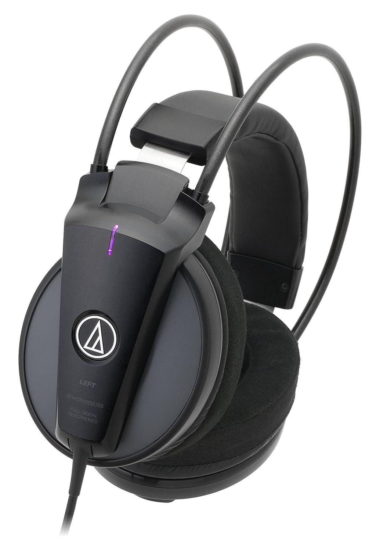 audio-technica Dnote 密閉型フルデジタルUSBヘッドホン ハイレゾ音源対応 ATH-DN1000USB   B00OTACT74