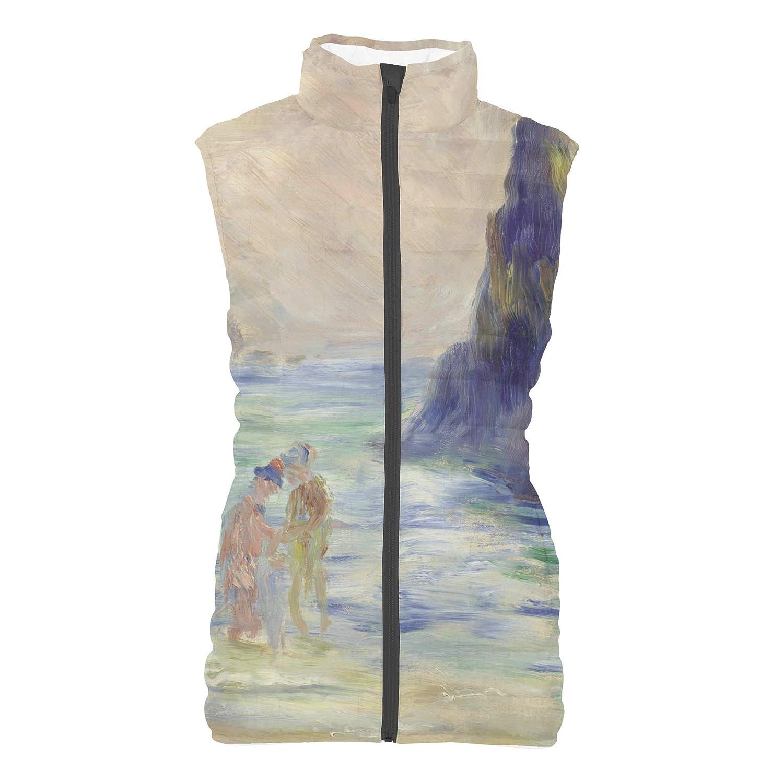 Renoir Guernsey Art Painting Mens Puffer Vest Bodywarmer Gilet