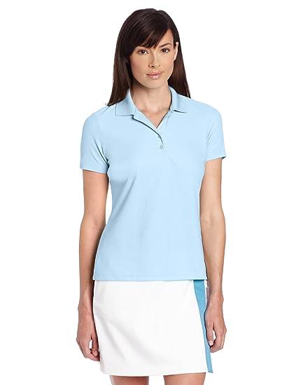 fa4fa9430 Amazon.com   Greg Norman Collection Women s Protek Micro Pique Polo Shirt    Golf Shirts   Clothing