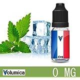 E-liquide - France e liquide saveur Menthe glaciale sans nicotine - 10ML pour cigarette électronique par Volumica