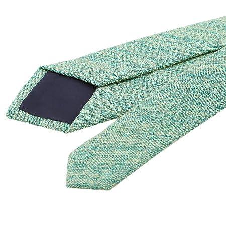 HYhy algodón sólido Corbata maigre Corbata Delgada de algodón de ...