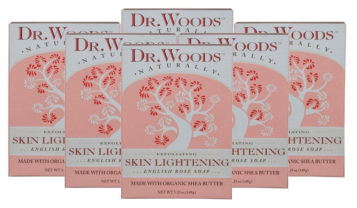 Amazon Dr Woods Bar Soap Skin Lightening English Rose 525