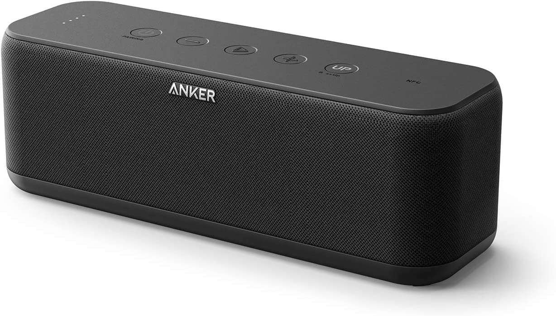 3. Upgraded, Anker Soundcore Boost Bluetooth Speaker