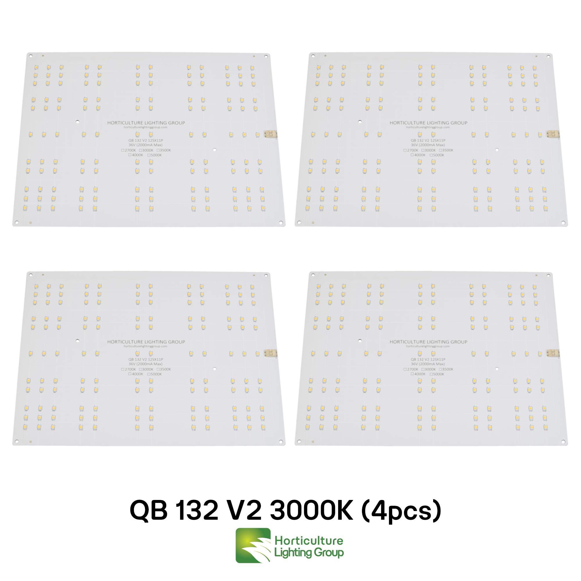 Horticulture Lighting Group 4X QB132 V2 Quantum Boards (3000K)