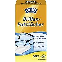 Swirl Bril poetsdoeken - alcoholhoudende vochtige brillenreinigingsdoekjes met anti-condens-effect voor helder zicht, 1…
