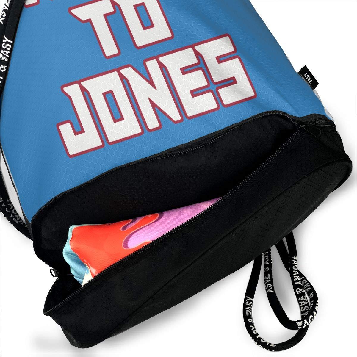 Drawstring Bag Atlanta Ryan To Jones Gym Bag Sport Backpack Shoulder Bags Travel College Rucksack