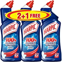 Harpic Toilet Cleaner Liquid Limescale Remover Original, 750ml 2+1