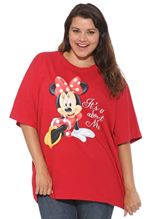 Amazon.com: Disney Women's All About Minnie T Shirt: Clothing