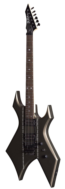 BC Rico MK3 Warlock de guitarra eléctrica (alambre de Espino Gunmetal satinado): Amazon.es: Instrumentos musicales