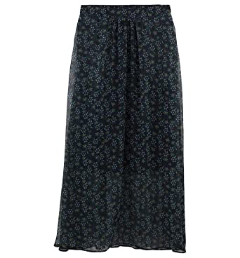 bad33abcac37a8 Promod Longue Jupe imprimée Femme Imprimé Multicolore 38: Amazon.fr ...
