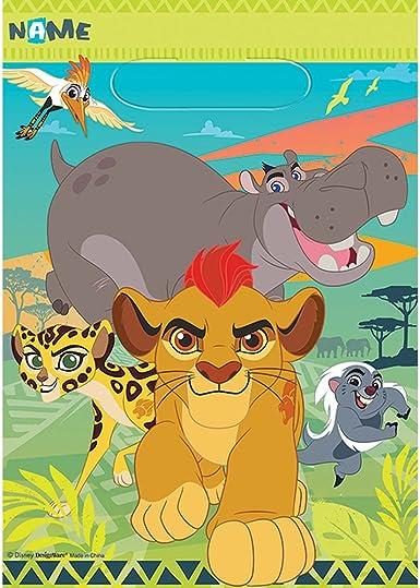 Amazon.com: The Lion Guardia Favor Bags (8ct): Clothing