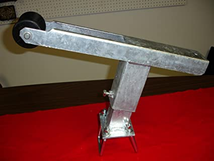 Die-matic Heavy Duty Angled Boat Trailer Winch Stand (Galvanized)