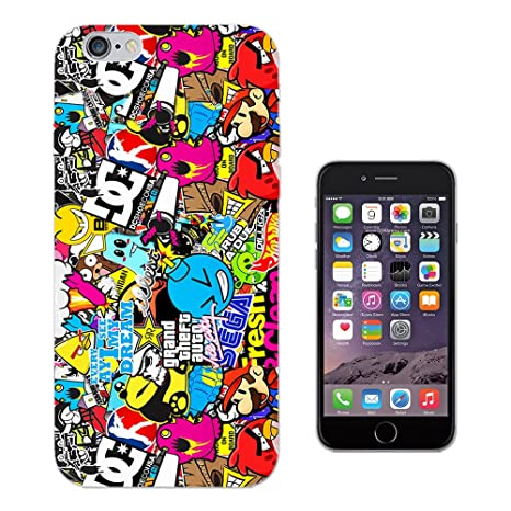 custodia iphone 6 sticker bomb