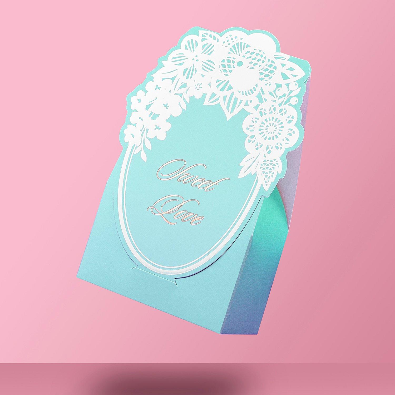Amazon.com: WeddingBob 5Pcs Bridal Shower Wedding Party Favour Candy ...