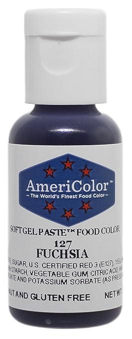 Amazoncom Americolor Soft Gel Paste Food Color 75Ounce