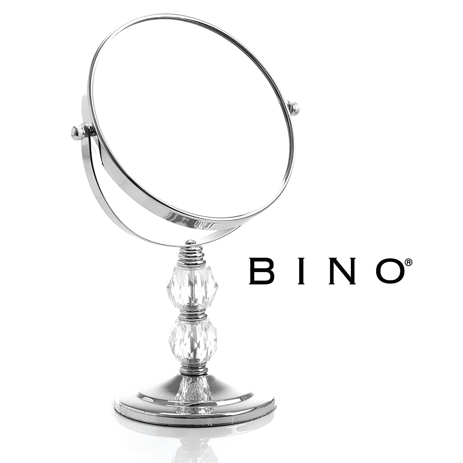 BINO The Brilliant 6-Inch Double-Sided Mirror with 3x Magnification
