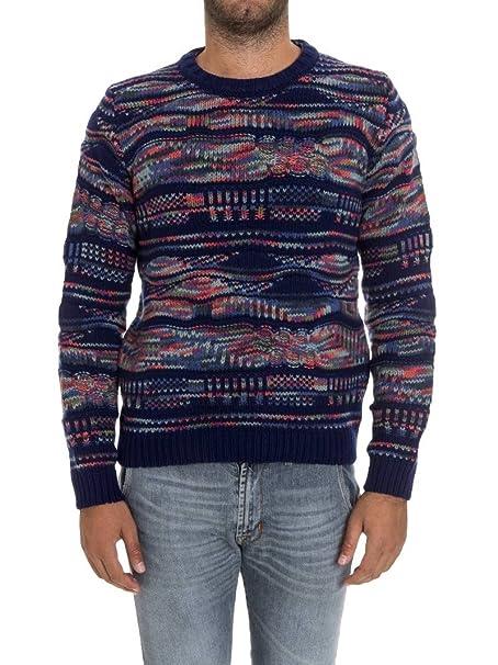 5373332481 Uomo it Abbigliamento Blu Maglione Cashmere Missoni Amazon 5EwxH7qnA