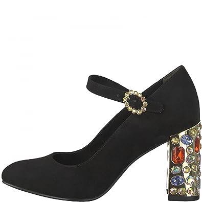 Tamaris Sling Pumps 1 24437 39 Riemchen High Heels: Amazon