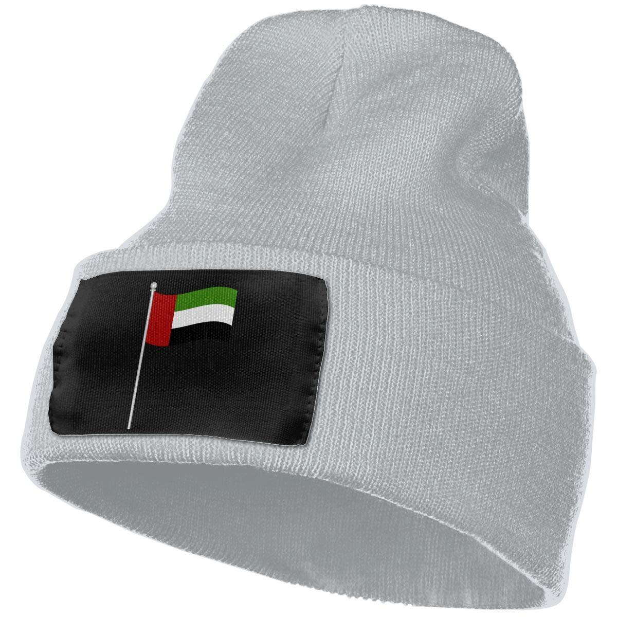 SLADDD1 Flag-of-UAE Warm Winter Hat Knit Beanie Skull Cap Cuff Beanie Hat Winter Hats for Men /& Women